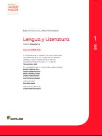 Ejercicios de Lengua 1 ESO Soluciones Santillana