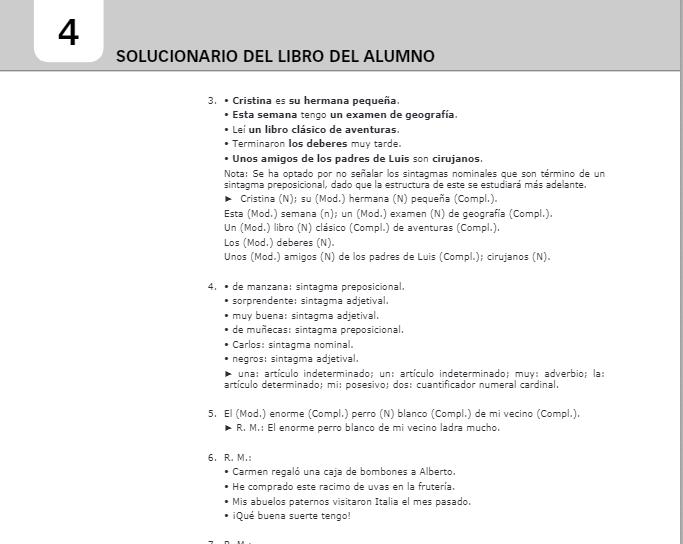 Solucionario Lengua Castellana y Literatura 2 ESO Santillana PDF