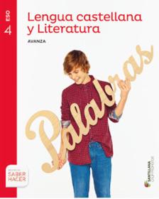 Solucionario Lengua Castellana y Literatura 4 ESO Santillana Serie Comenta