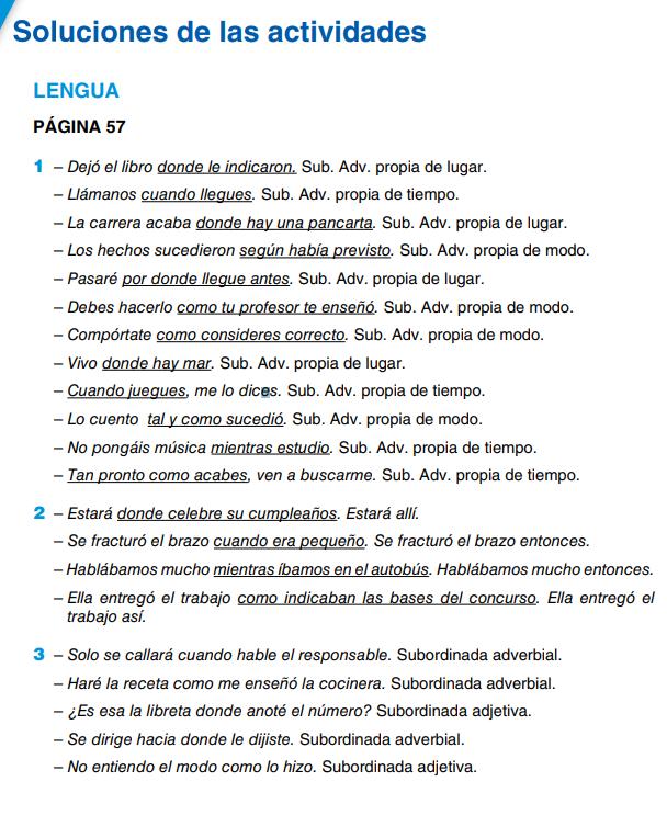 Soluciones del Libro Lengua y Literatura 4 ESO Anaya