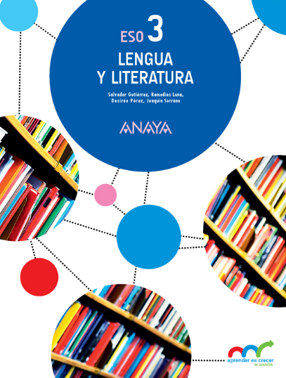 Lengua y Literatura 3 ESO Anaya Libro del Profesor